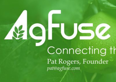 AgFuse Pitch Deck